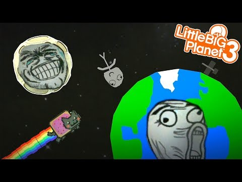 THE WORLD OF DANK MEMES | LittleBIGPlanet 3 Gameplay (Playstation 4)