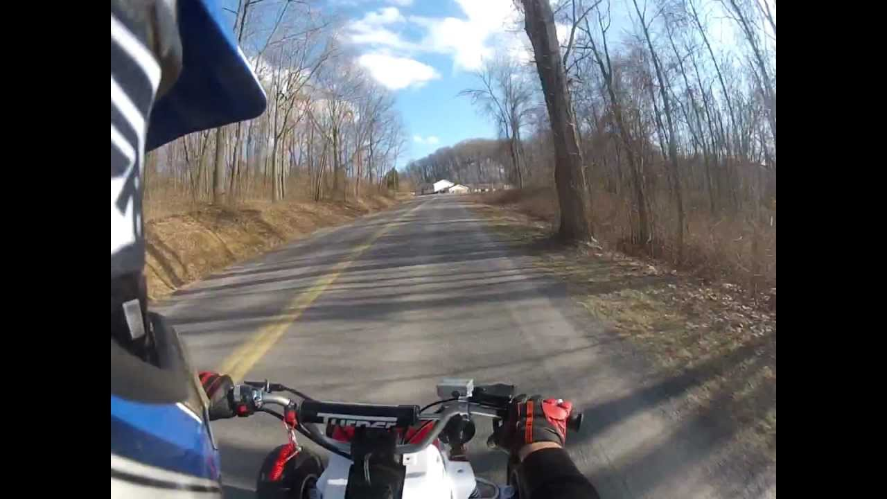 First Ride 4-Mil Stroker Banshee