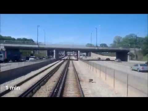 Red Line South - Pre-Construction Ride-Thru