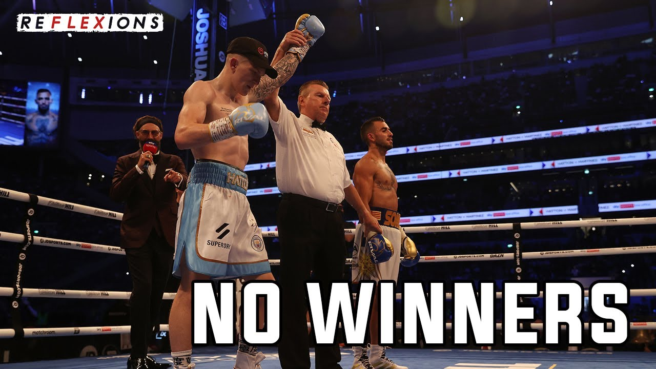 CAMPBELL HATTON LOSE BUT WINS – Joshua vs Usyk UNDERCARD REVIEW |  ReFLEXions – SecondsOut