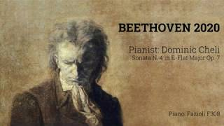 BEETHOVEN 2020: Dominic Cheli plays Sonata N. 4 Op. 7
