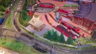 Spur N Modellbahn kurzes Info Video zu gestern.