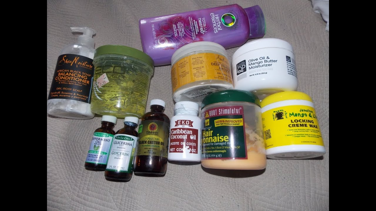 Products For My 4C Natural HairMini Hair Journey YouTube