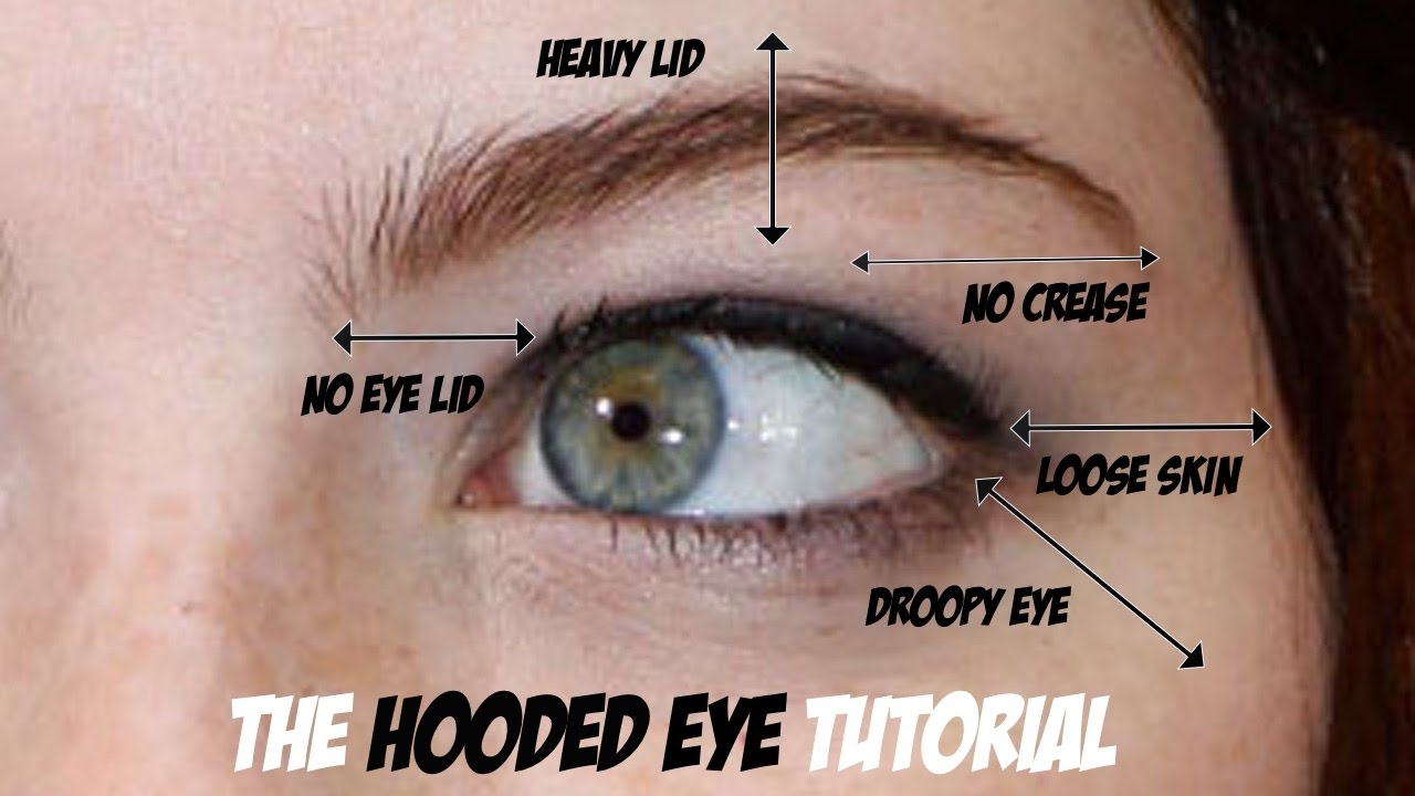 Hooded Eye Trick For Loose Skin On The Eyes Lift The