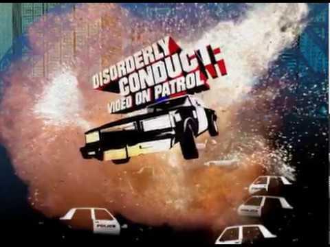DISORDERLY CONDUCT: VIDEO ON PATROL - Show Open GFX By Beau DeSilva & Machine Studios