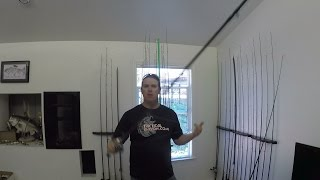 braided line and leader length
