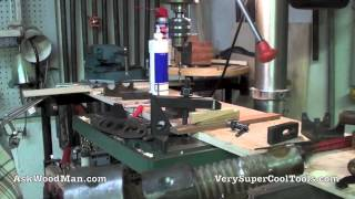 35/40 Drill Press Table Support Welding • Welding For Woodworkers