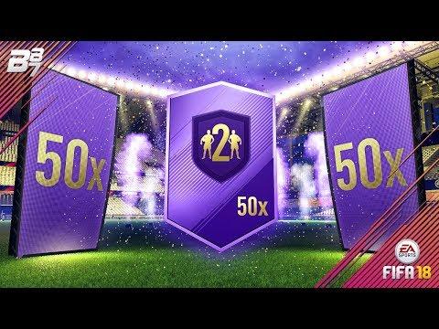 50 GOLD UPGRADE PACKS! HERO PACK OPENING! | FIFA 18 ULTIMATE TEAM