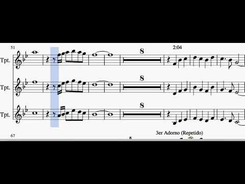 el-color-de-tus-ojos-trompetas(tutorial-para-trompeta)(partituras-para-trompeta-de-banda)