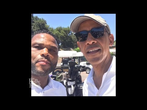 Anthony Anderson Golfed with Barack Obama