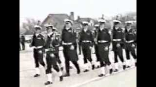 Me as Drill Team Cdr, Area 8 Inspection Performance, 1989