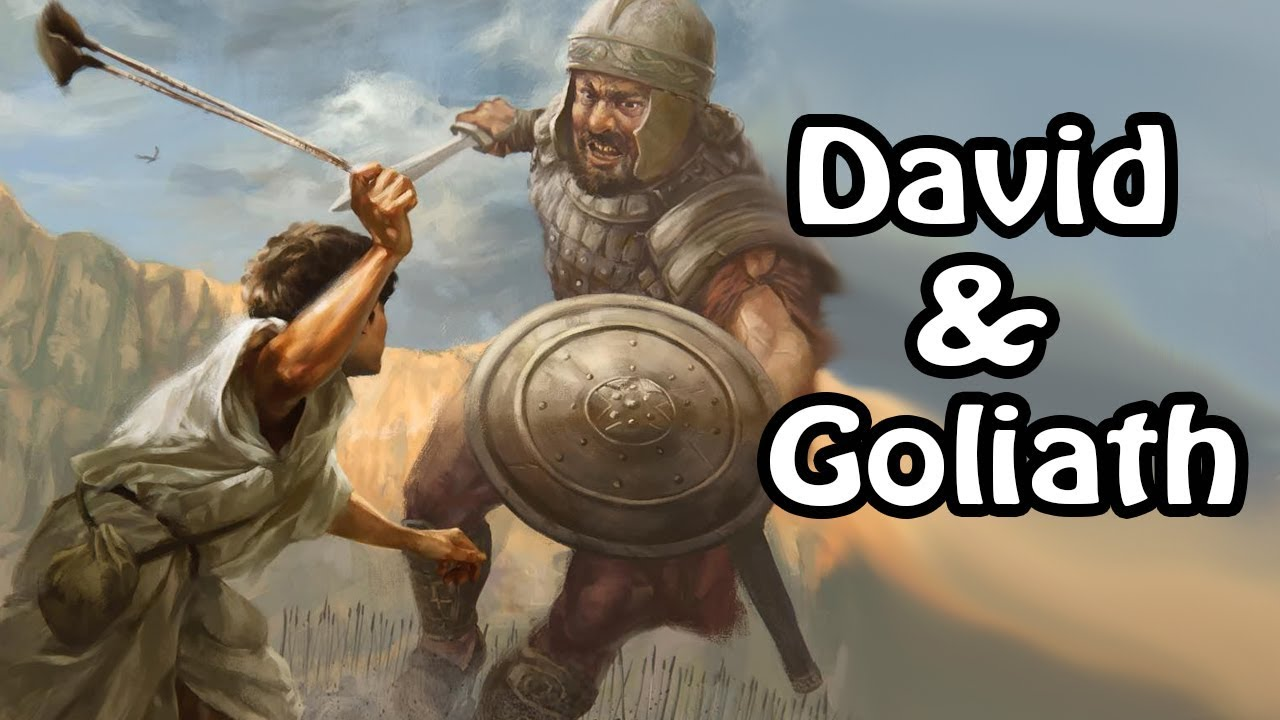 David and Goliath (Biblical Stories Explained)