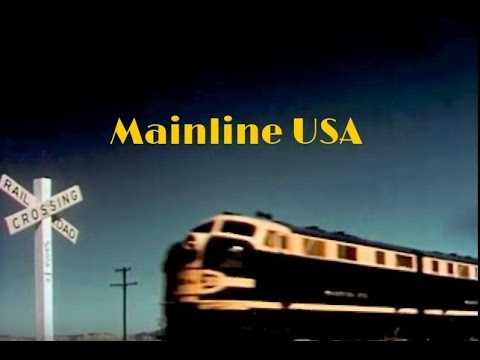 Mainline USA:  The History of American Railroads - Classroom Video