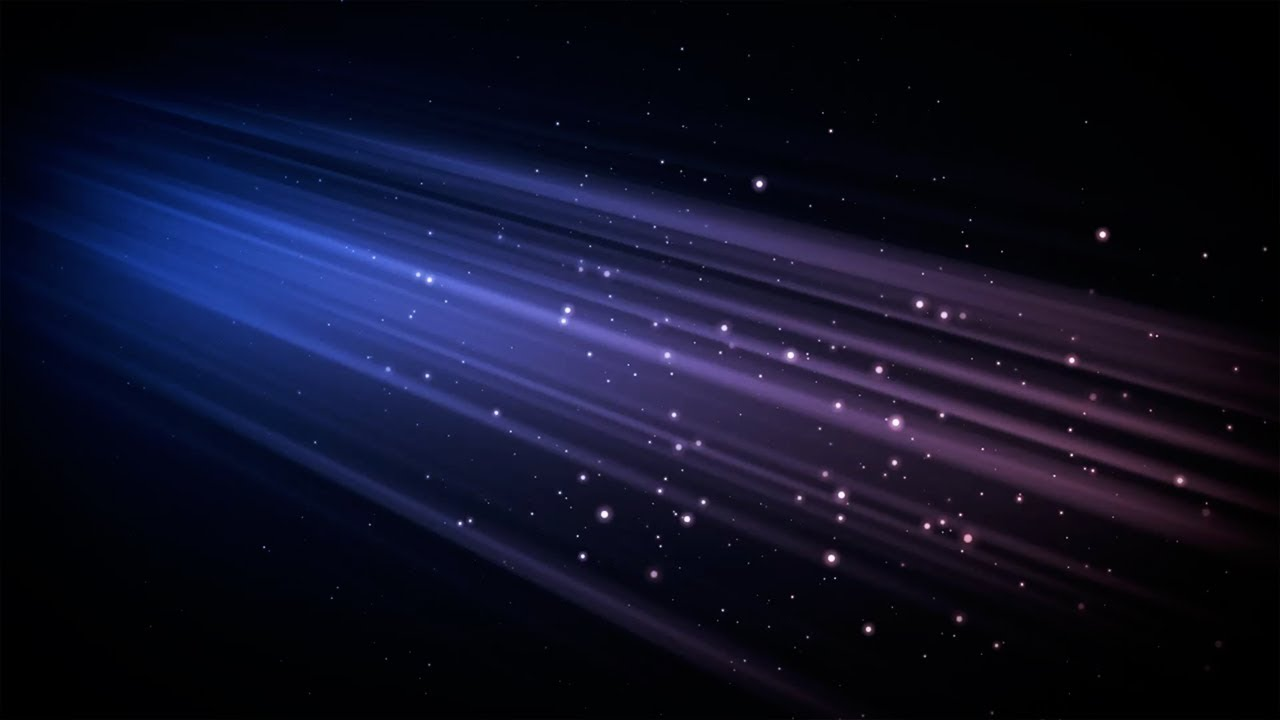 Night Sky Heavenly Light Abstract Background HD