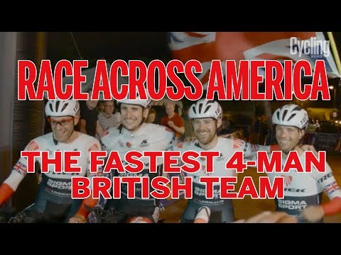 Race Across America: The Fastest 4-Man British Team #RAAMIN4CHARITY | RAAM For Rookies