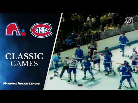 NHL Classic Games: 1984 Battle Of Quebec - Canadiens Defeat Nordiques