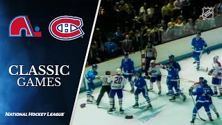 NHL Classic Games: 1984 Battle of Quebec  Canadiens defeat Nordiques