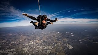 Greenville SC Police Chief Miller Skydives To Honor Fallen Officers