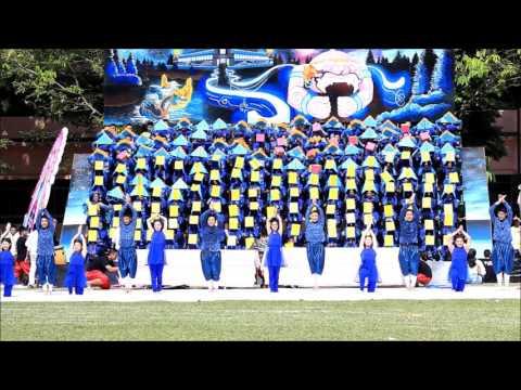 งานกีฬาสี โรงเรียนสามเสนวิทยาลัย คณะอู่ทอง 2558
