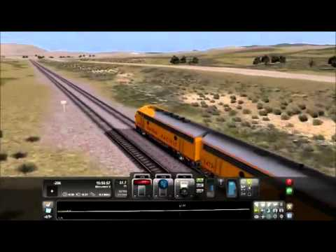 Railworks 3 Train Simulator 2012 Easy Route Transcontinental Link: Castlerock Railroad