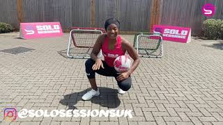Crazy Catch Netball Skills | Sasha and Kadeen Corbin