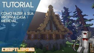 Tutorial Casa medieval grande! YouTube