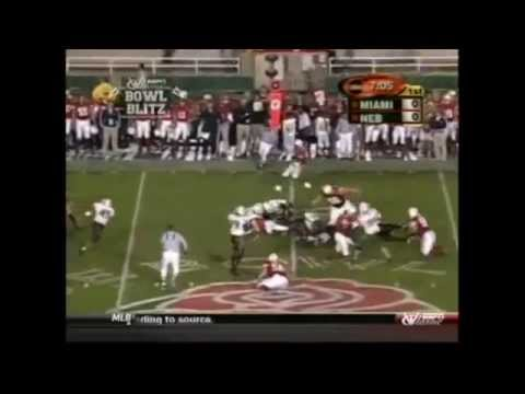 2002 Rose Bowl - #1 Miami vs. #2 Nebraska Highlights