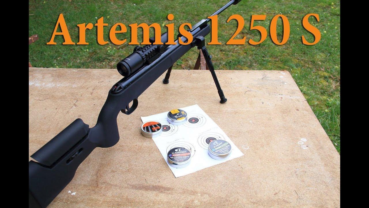 Test de la carabine à air comprimé 1250 S d'Artemis