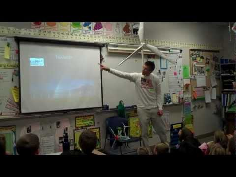 Teaching first and second graders about wind energy