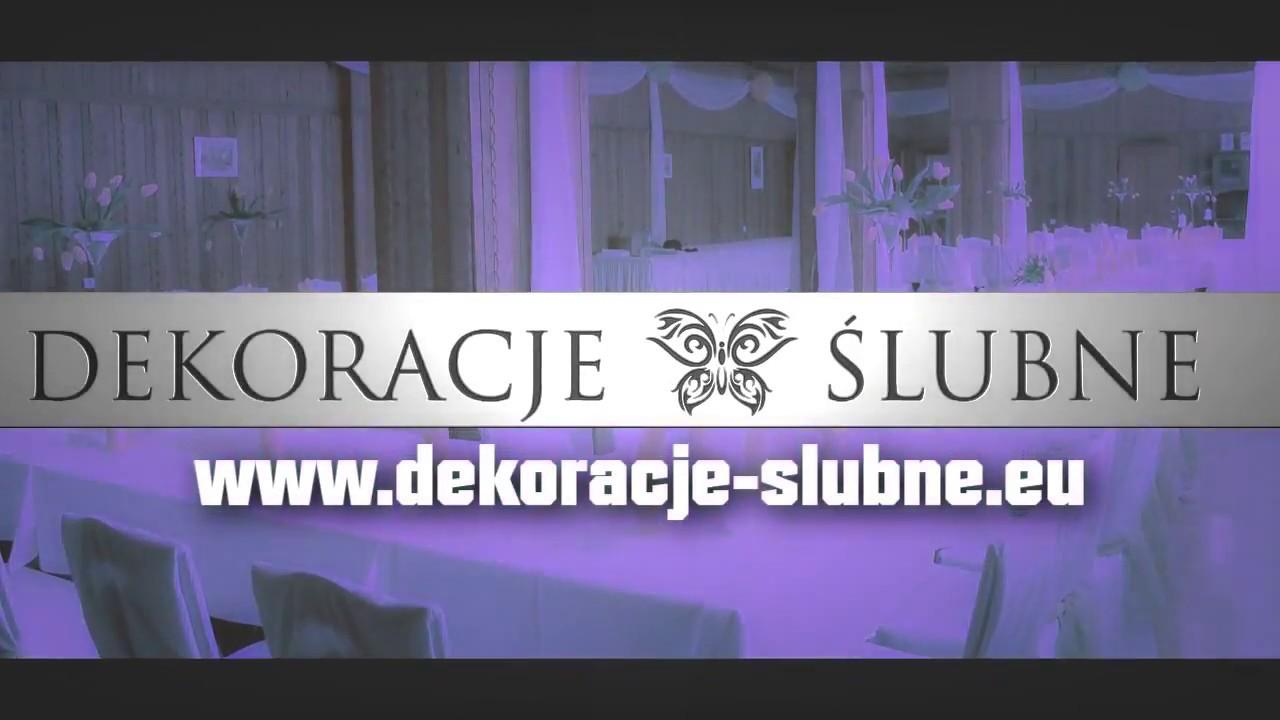 Pokrowce Na Krzesła Jelenia Góra Wwwdekoracje Slubneeu 2013 Youtube