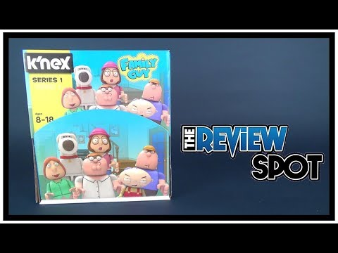 Collectible Spot | K'Nex Family Guy Series 1 Blind Bag 2017 Figures ENTIRE CASE OPENING WITH CODES!!