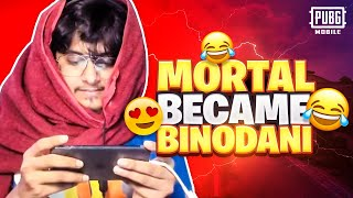 MortaL became BINODANI | Pubg mobile | MortaL