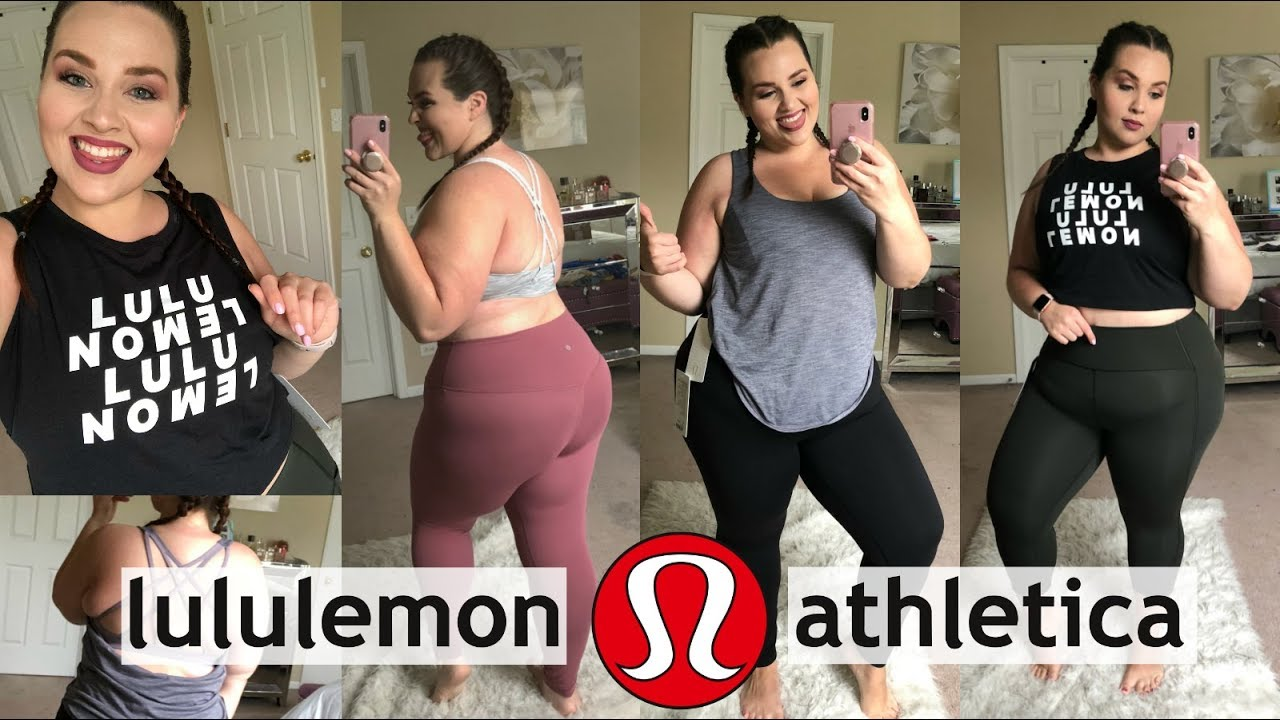 050f34cda4437c Will It Fit?! LULULEMON Try-On Haul 2018 - YouTube