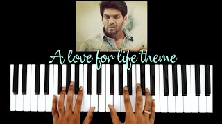 Cover images A Love For Life From Raja Rani ❤ || Piano Cover || Raja Mani