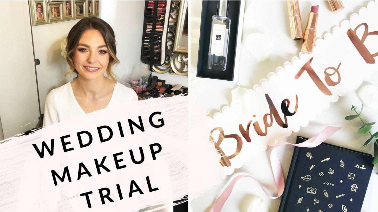 wedding hair & makeup trail / jodie melissa