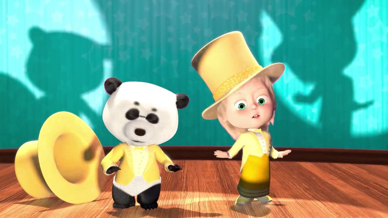 5dd23423f2768 Masha and The Bear - Dance Fever 💃🕺 (Episode 46)