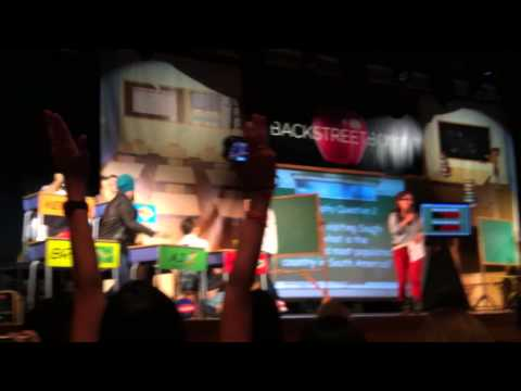 BSB Cruise 2013 Are You Smarter Than A Backstreet Boy