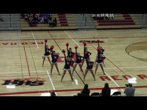 12 of 16 - St. Viator High School Varsity Dance Team 01-21-2017