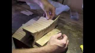 Make A Curved Wooden Vase