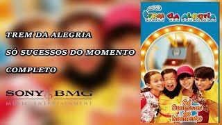 DVD Trem Da Alegria   Só Sucessos Do Momento 2003 Completo (SUPER RARO)