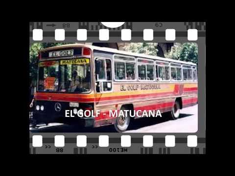 MICROS Y RECORRIDOS EN SANTIAGO DE LOS '80 Y ''90