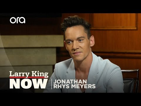 Download Jonathan Rhys Meyers slept next to Elvis's grave