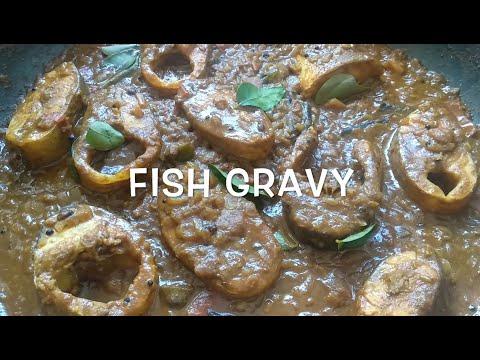 மீன் குழம்பு    Fish Gravy Without Coconut