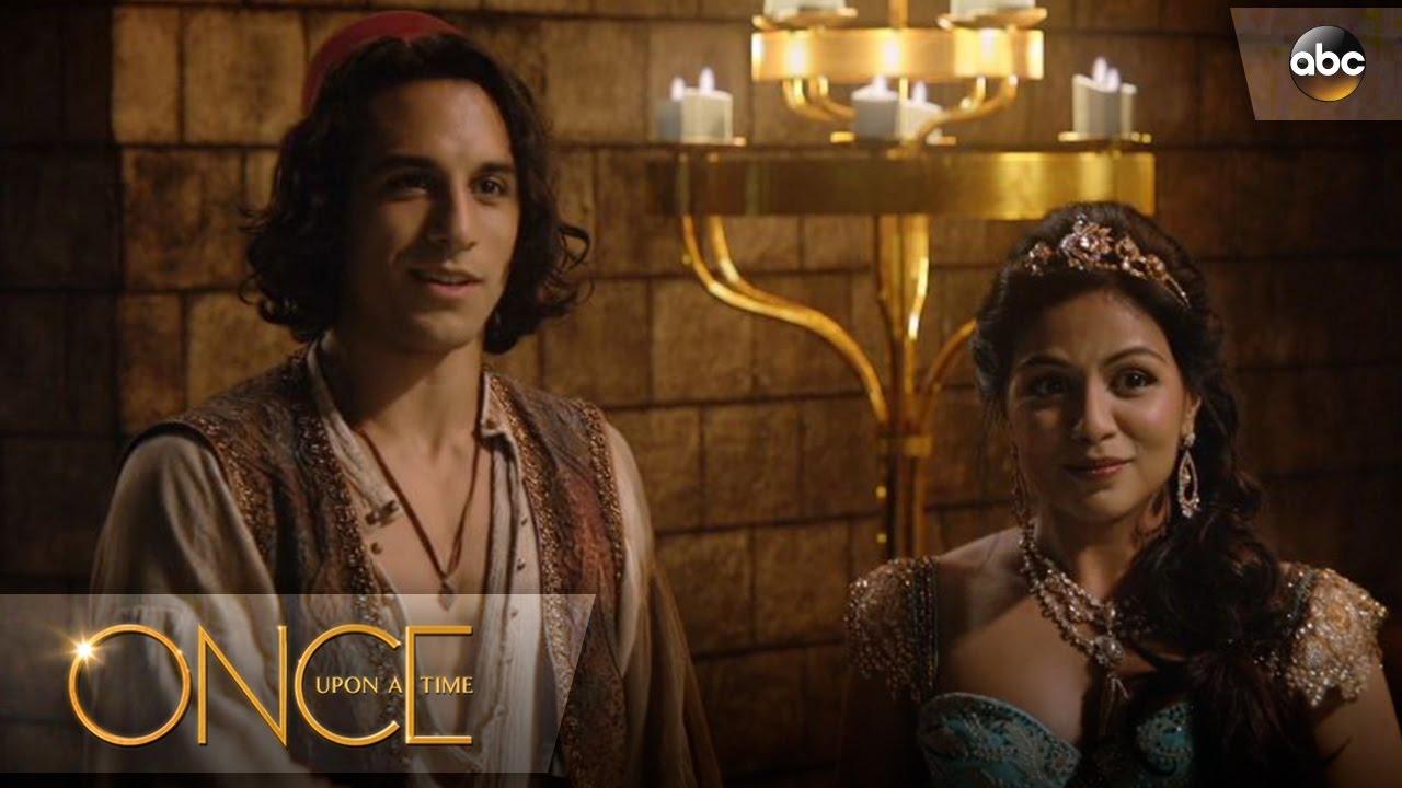 Aladdin Saves Jasmine Once Upon A Time Youtube