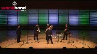 Boston Brass plays Green Hornet @ World Band Festival Luzern 2015
