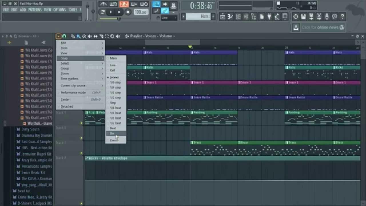 voice automation clip fl studio