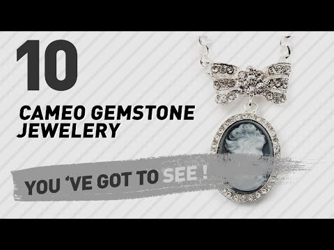 Cameo Gemstone Jewelery Collection For Women // UK New & Popular 2017