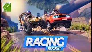 Racing Rocket Parkour Rivals - Android Gameplay FHD