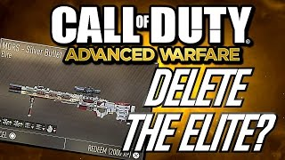 DELETE THE ELITE?!? Ep 6 - MORS Silver Bullet!!! (Advanced Warfare Challenge)