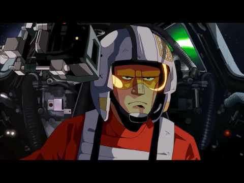 TIE Fighter Remastered - Star Wars Anime Short Film